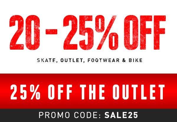 20-25% OFF Skate, Outlet, Footwear & Bike @ Hyper Ride - Bargain Bro