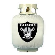 Oakland Raiders White Tank Wrap