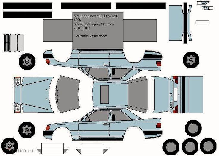 les 342 meilleures images du tableau voiture de papier sur pinterest voitures papier et. Black Bedroom Furniture Sets. Home Design Ideas