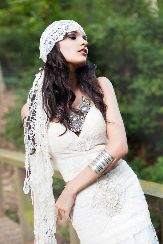 Gypsy bride, editorial de En Route Phography para Tendencias de Bodas Magazine