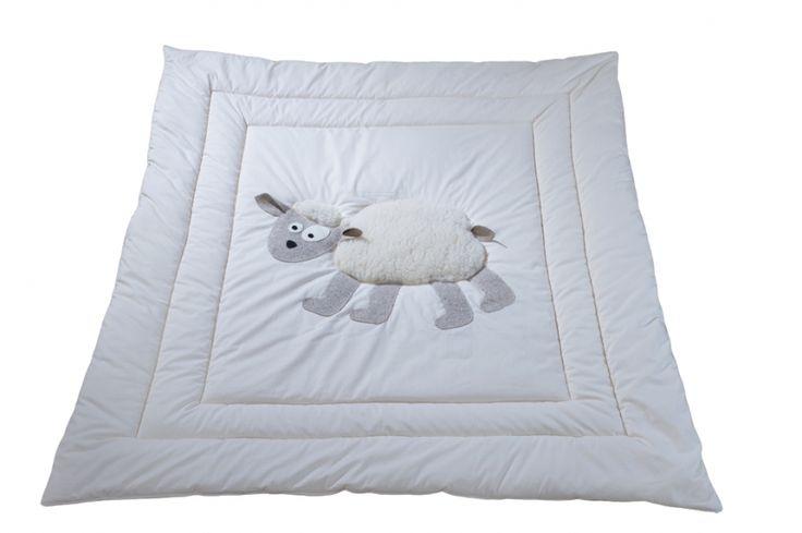 Édredon blanc motif mouton pour enfant