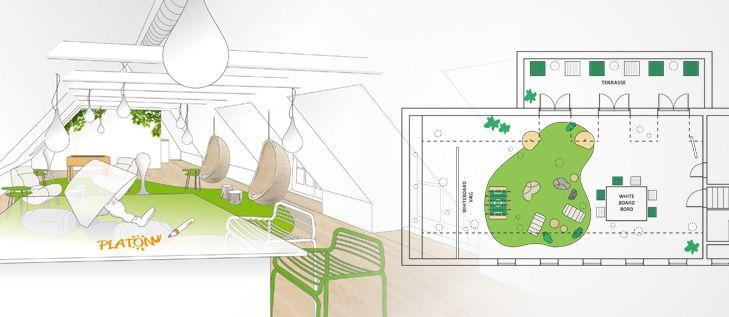 Spatial Identity and Refurnishing for IT Company - WhatWeDo Copenhagen