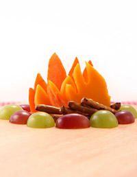 A fruit campfire #foodart