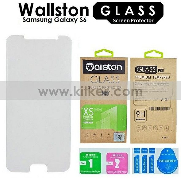 Wallston Tempered Glass Screen Protector Samsung Galaxy S6 - Rp 65.000 - kitkes.com