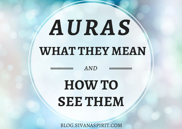 how to see aura for beginners