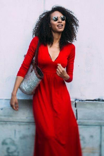 MARIA ANTONINA happy red