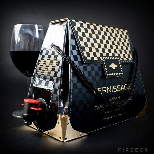 Would you purchase a wine handbag? via #HauteMama