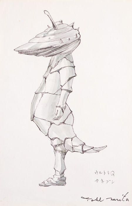 ウルトラマンをデザインした成田亨の回顧展『美術/特撮/怪獣』、未公開の怪獣も