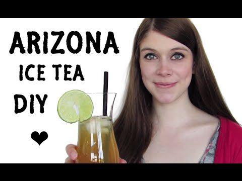 Arizona Ice Tea - SELF MADE! | DIY - YouTube
