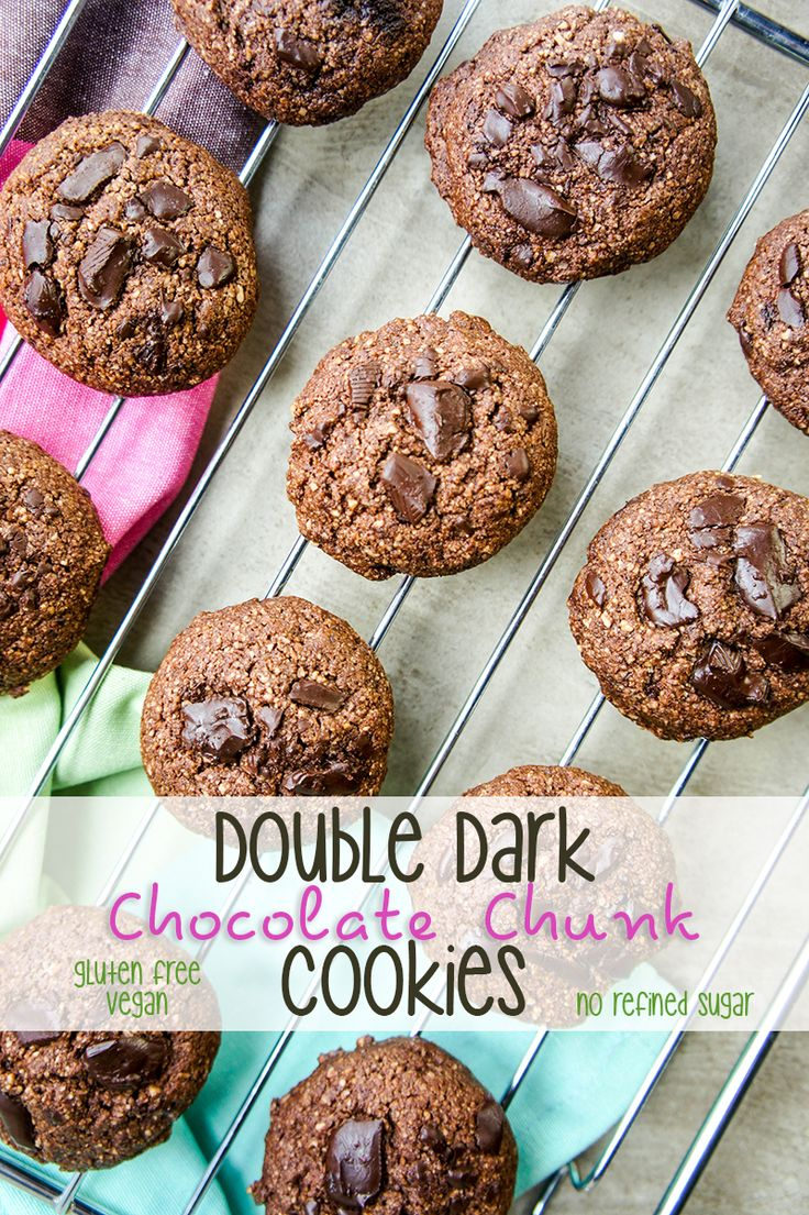 double dark chocolate cookies the healthy version recipes double dark ...
