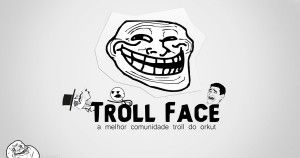 Troll Face Wallpaper for Facebook
