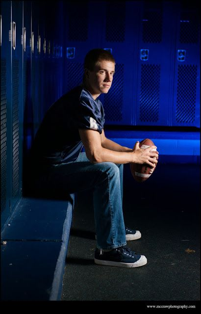 Senior football photography  [ Senior Photography | Conner | Hillsville, VA | VA Photography ]