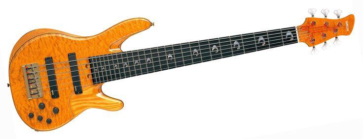 Yamaha trbjp2 john patitucci signature series amber 6 for Yamaha 6 string bass