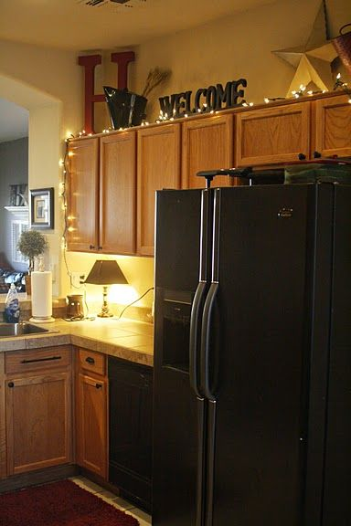 17 best images about wasted space above the kitchen What to do with space above cabinets