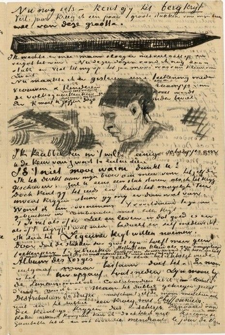 van gogh letter this letter written in march 1883 while vincent van gogh was