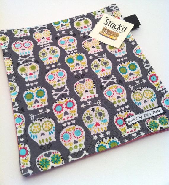napkins: Sewing Projects, Sugar Skulls, Clothing Napkins, Cloth Napkins