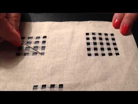 Pregătirea materialului pentru dantela ajur - Georgeta Balekics - YouTube