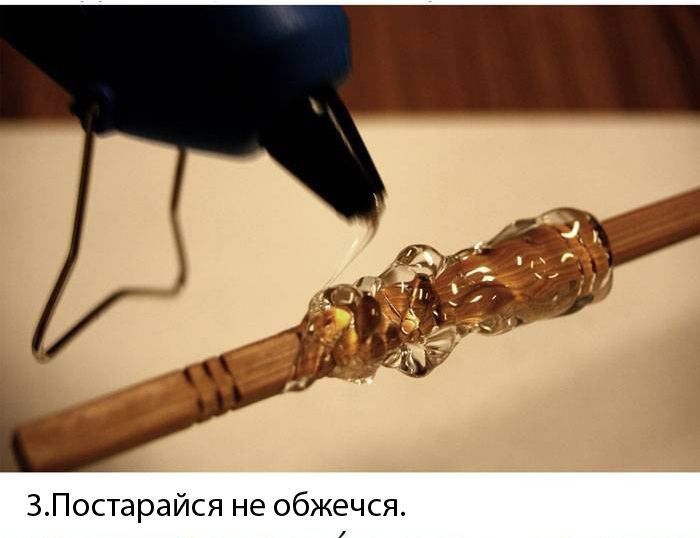 Волшебная палочка Гарри Поттера своими руками (12 фото)