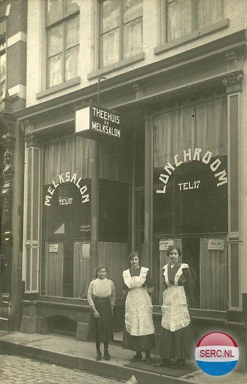 Lange Bischopstraat Deventer (jaartal: 1920 tot 1930) - Foto's SERC