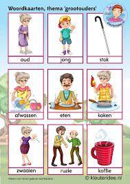 Afbeeldingsresultaat voor activiteiten 2de kleuter thema oma en opa