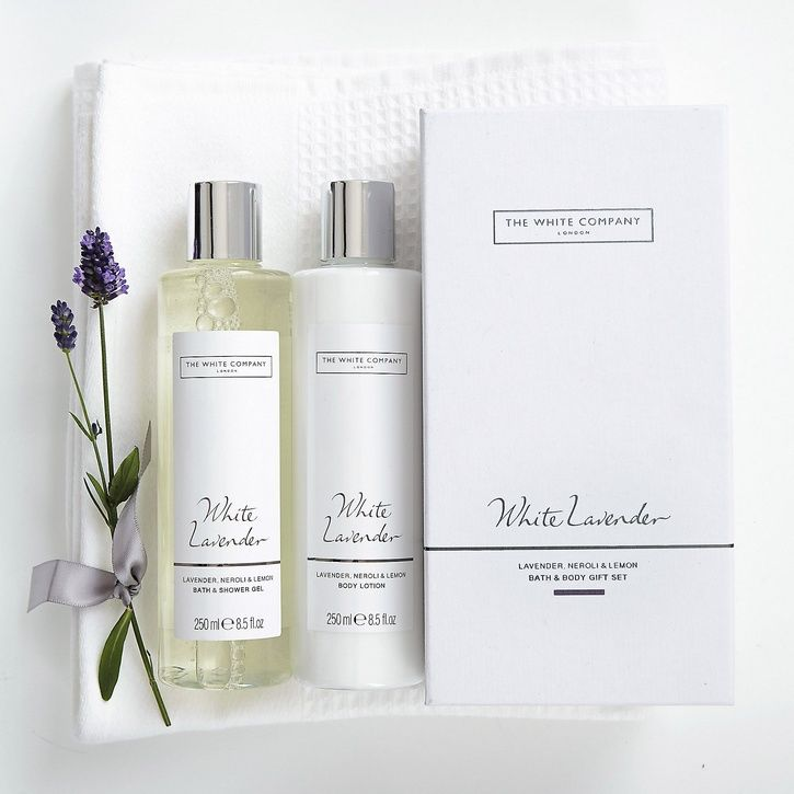 Wedding Gift List Wording John Lewis : ... White Lavender Bath & Body Gift Set Prezola - The Wedding Gift List