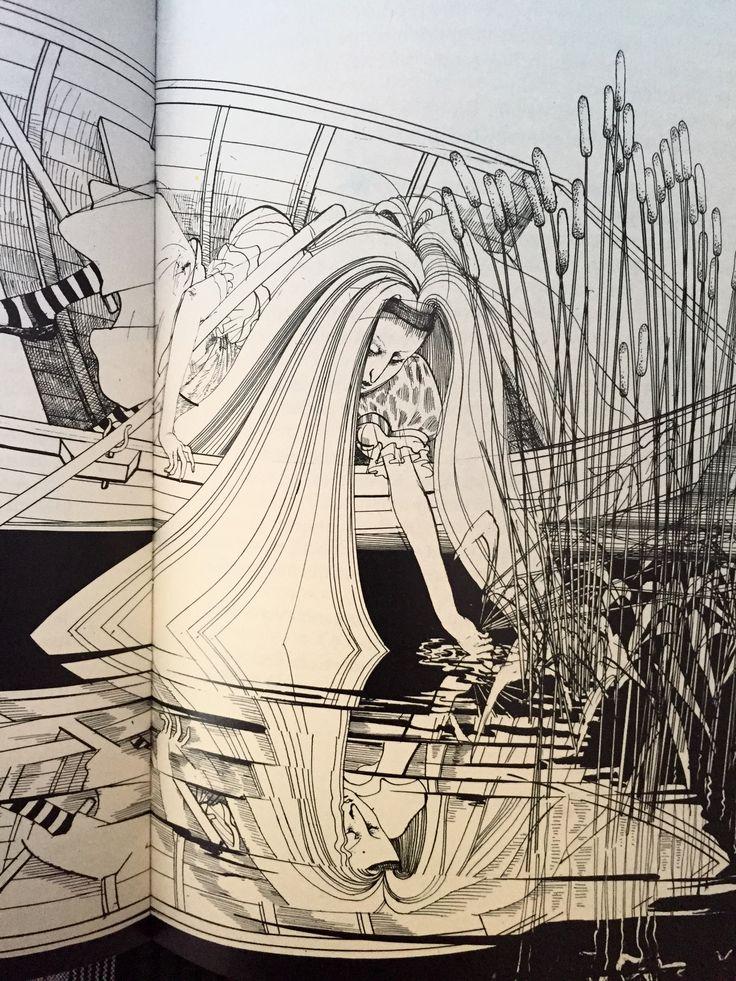 이 책에는 이상한 나라의앨리스, 거울나라의 앨리스, 스나크 사냥, 루이스 캐럴 Lewis Carroll 이 지은 앨리스에 관한 모든 것이 수록되어 있습니다. 많은 일러스트레이터들이 이작품의 모던화를 시도 했지만 존 테니엘 John Tenniel이 성립해 놓은 전통을 적절히 탈피하는데에 아무도 성공하지 못했다는 평 한가운데 랄프 스테드먼의 이 책이 나와 많은 사람을 놀라게 했다지요.