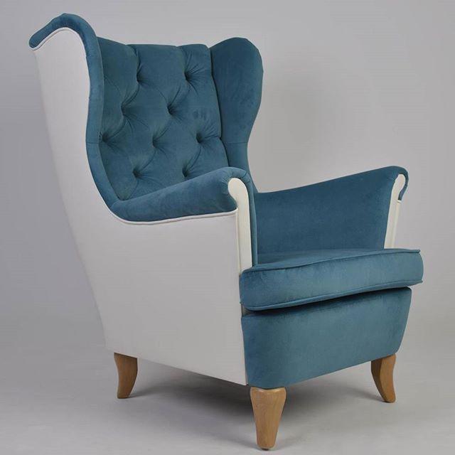 Fotel Uszak pik Chesterfield w dwóch kolorach do kupienia w naszym sklepie internetowym http://onlymyhome.pl/fotele/212-fotel-uszak-chesterfield.html