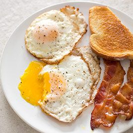 Perfect Fried Eggs - America's Test Kitchen. I need this, can't fry an egg to save my life.