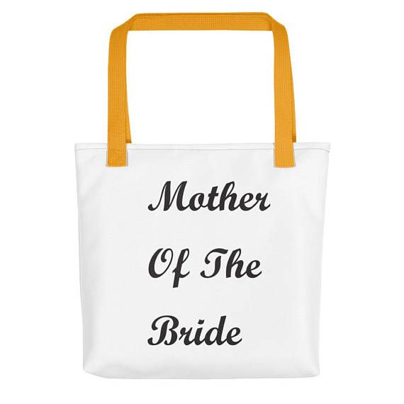 Mother of the Bride, Mother of The Bride Tote, Mother of The Bride Bag, Mother of the Bride Gift, Gift For Mother of the Bride, Just Engaged