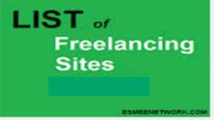 List of Freelancer Sites