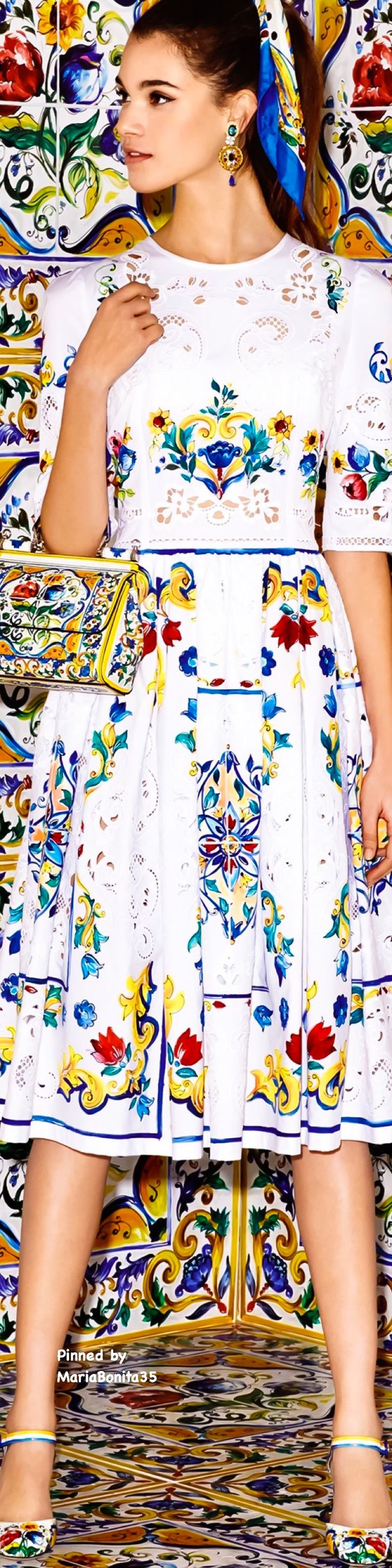 Dolce and Gabbana Fall-Winter 2016/17 Collection Majolica Highlights