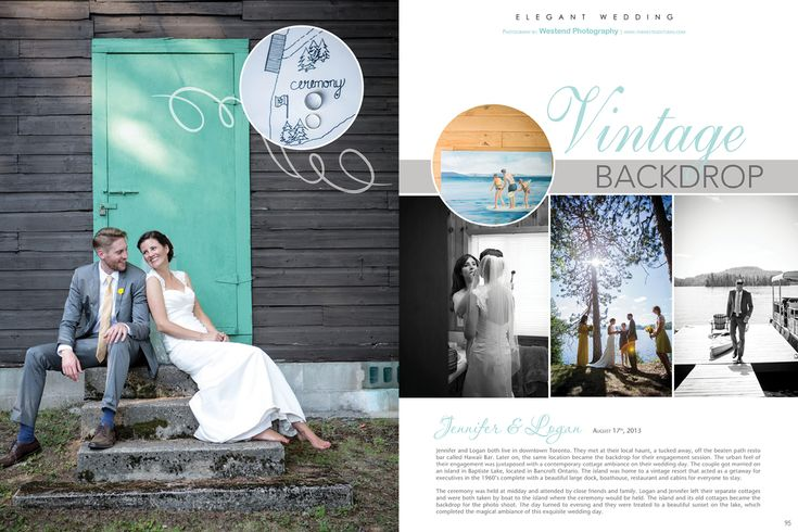 What a great vintage wedding! Featured in Elegant Wedding - The Westend Studio