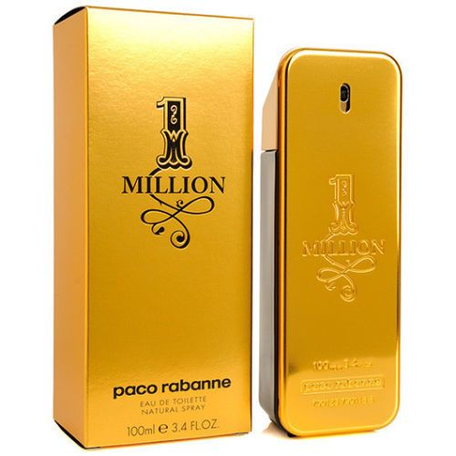 Men Fragrance: 1 One Million By Paco Rabanne 3.4 Oz Edt For Men New In Box 100Ml -> BUY IT NOW ONLY: $40 on eBay!