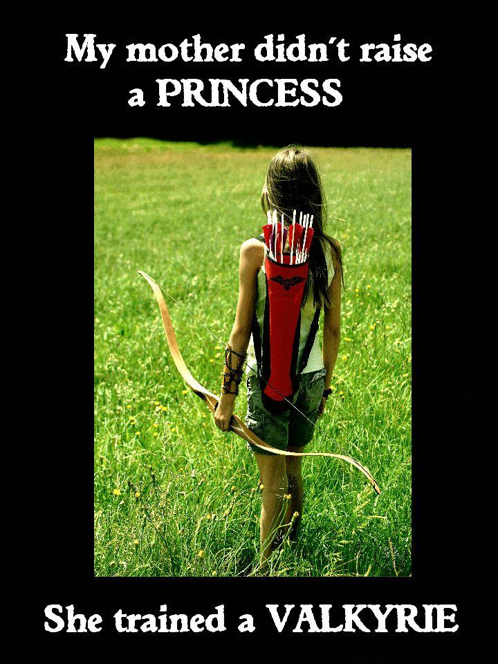 #Instinctive #Archery #Valkyrie