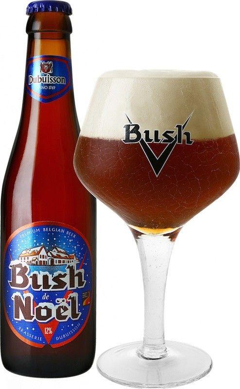 Cerveja Bush de Noël (Scaldis Noël), estilo Belgian Dark Strong Ale, produzida por Dubuisson, Bélgica. 12% ABV de álcool.