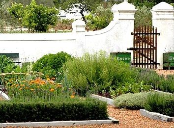 Inspiration exterieur Cape Dutch - Babylonstoren Farm Hotel