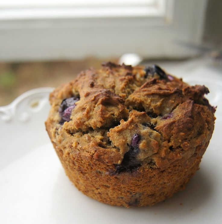 Guilt Free Blueberry & Banana Muffins