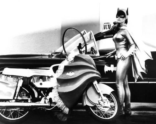 Yvonne Craig as Batgirl on the Batman TV series, 1960's