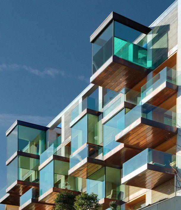 Жилой комплекс Lomocubes в Швейцарии