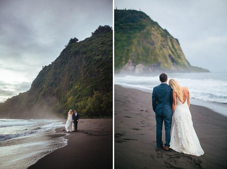 Waipio Valley Wedding, Vintage & Lace, Big Island of Hawaii 10