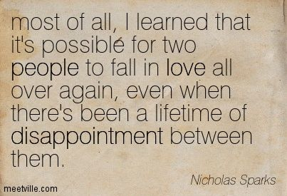 quote photos marriage over family | Nicholas. Sparks quotes and sayings