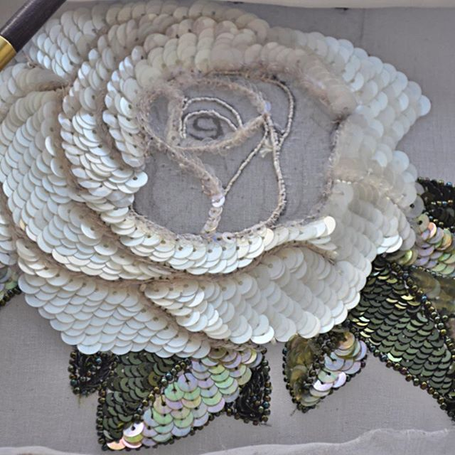Юлия @embroidery_deco #вышивка #роза #л...Instagram photo | Websta (Webstagram)