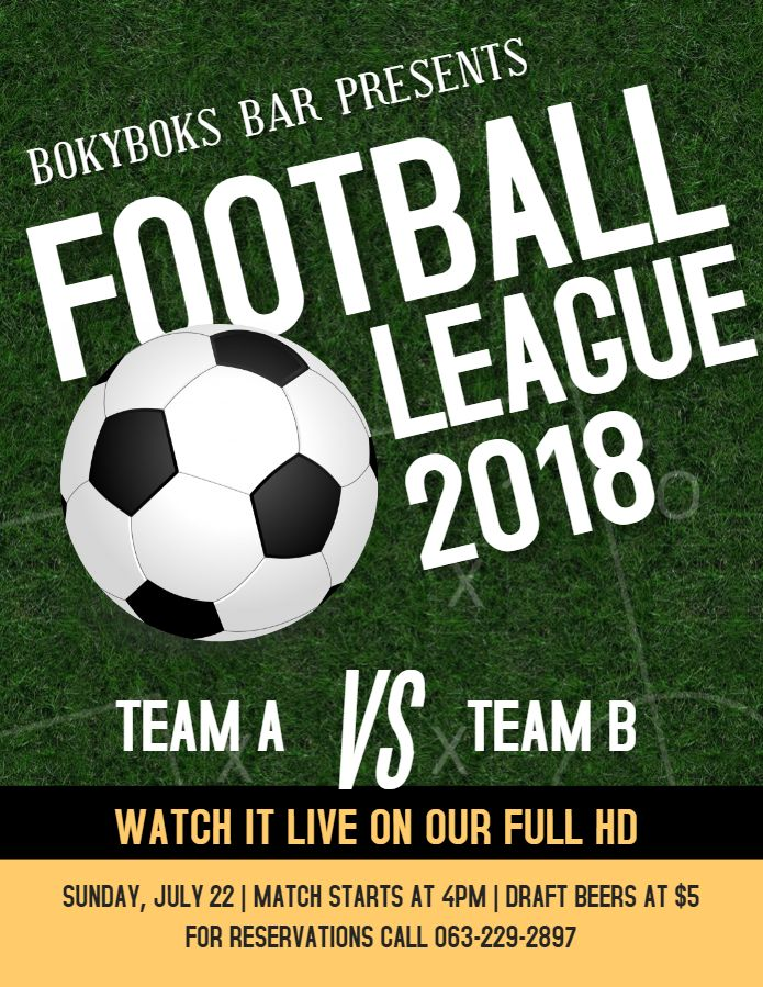 Football Viewing Party Invitation Bar Flyer Template Football Viewing Party Party Flyer Party Poster