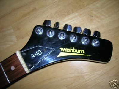 Vintage 80's Washburn Electric Guitar A 10 - Guitar museum