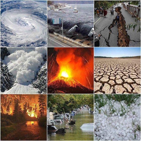 Todos Los Tipos De Desastres Naturales Y Ejemplos De Los Mas Destructivos Nature Pictures Clip Art