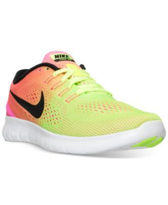 Nike Women's Free Run ULTD Running Sneakers from Finish Line | macys.com