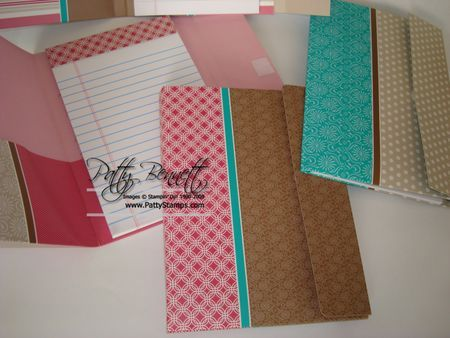 Awesome tutorial from Patty Bennett for file folder note pads using SU folders.