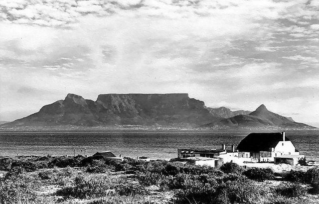 Cape Town from Blouberg Strand 1955 | Flickr - Photo Sharing!