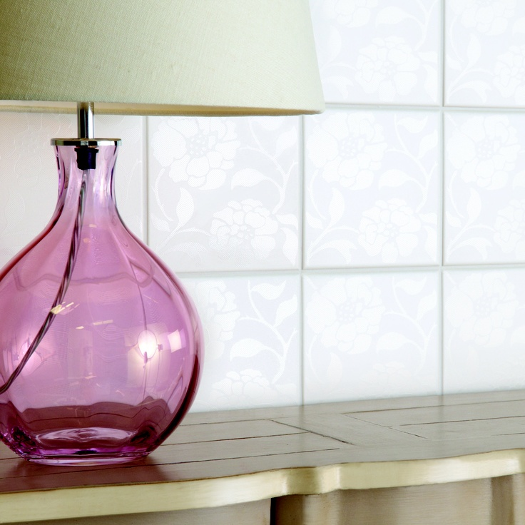 Heathfield Coloured Glass Lamp From Amos Lighting