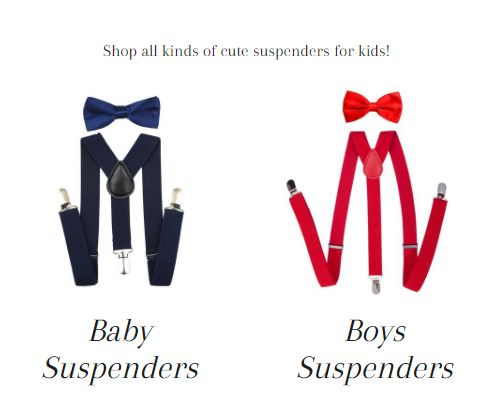 Suspenders For Kids � Trend Suspenders